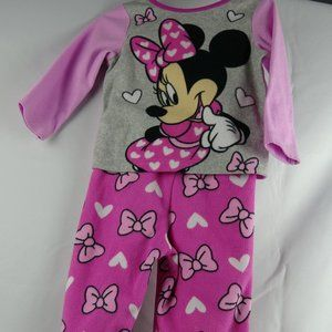 Disney Minnie Mouse Girl's Pajamas 18M